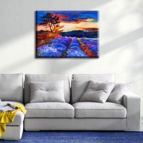Картина 70*50 см холст Lavender Valley, Dandelions, Iris, Venice, Blossom гз
