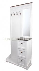 Прихожая с зеркалом в стиле Прованс Лион 1 ВВ SS002294