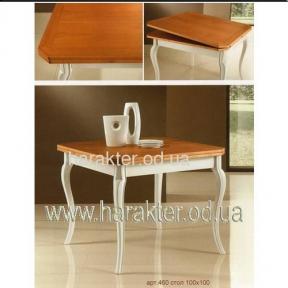 стол ФС 460 раскладной 100x100 Италия