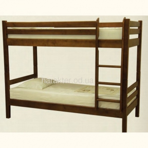 кровать деревянная двухъярусная из ели Л-302
