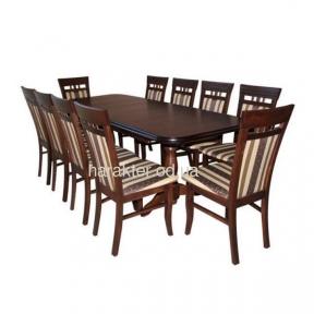 стол обеденный деревянный раскладной Тис-1