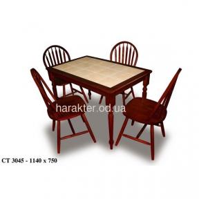 Стол обеденный СТ3045 махагон ом