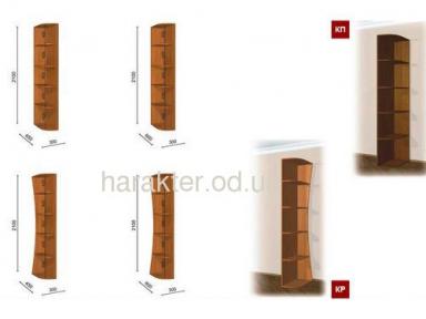 Угловое окончание радиусное высотой 2,1м или 2,4м