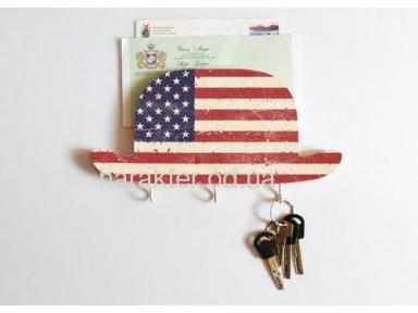 Держатель для ключей и почты «Мой американский дядюшка»