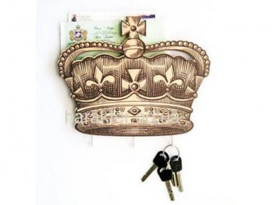 Держатель для ключей и почты «Британская корона»
