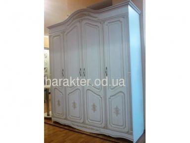 шкаф Гармония 4х дверный,  мдф патина ам