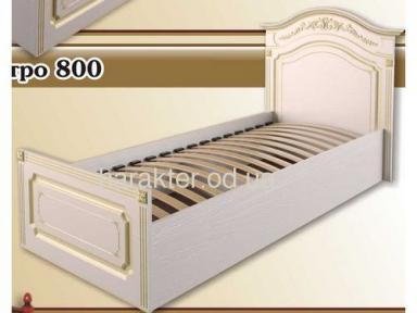 кровать односпальная Гармония 800 (мдф патина) ам