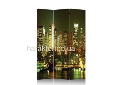 Ширма декоративная Город NY-1086-3 фотопечать двухсторонняя ом