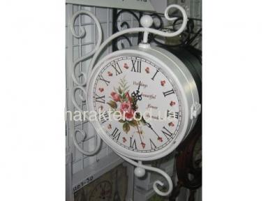 Часы декоротивные Вокзальные (Розы)