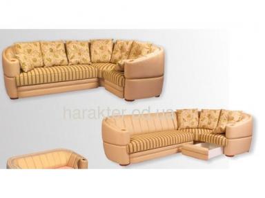 диван угловой Роксолана подушки с бахрамой
