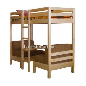 кровать двухъярусная трансформер