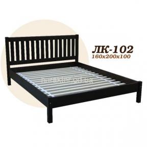 Ліжко двоспальне Л-2020, кровать двуспальная из ели Л-202