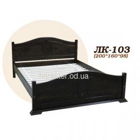 кровать двуспальная из ели Л-203