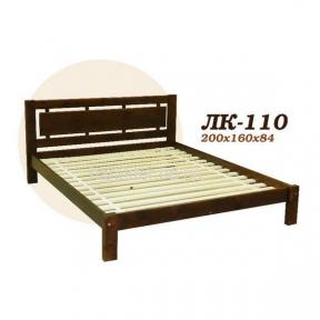 Ліжко двоспальне Л-210, кровать двуспальная из ели Л-210