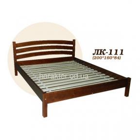 Ліжко двоспальне Л-211, кровать двуспальная из ели Л-211