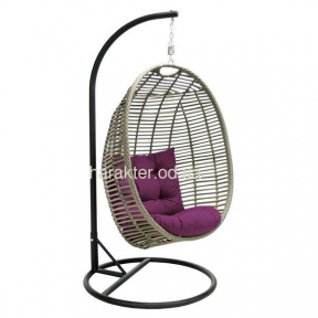 Подвесное ротанговое кресло Cora