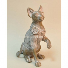 Фигурка кошка сфинкс 18.5х9.5х25см