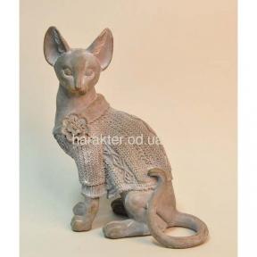 Фигурка кошка сфинкс 18.5х9.5х23см