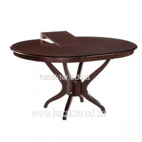 Стол обеденный Доминика 1060(+330)*1060*750 (венге)