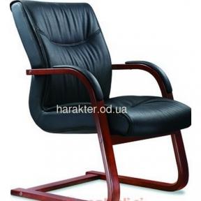Кресло МОНТАНА кожа черная, коричневая CF