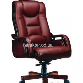 Кресло Ричмонд, кожа коричневая (черная)