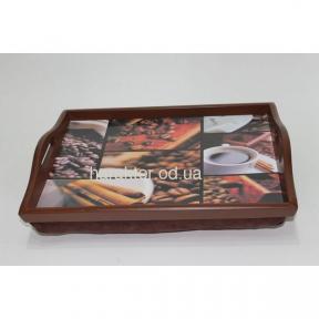 Поднос на подушке Кофе №9 с ручками