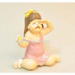 Фигурка Девочка с мороженым 12 см