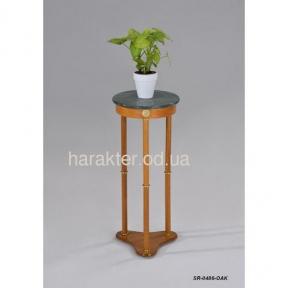 Подставка для цветов (столешница - мрамор) SR-0486-OAK