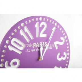 Часы «Paris purpe»