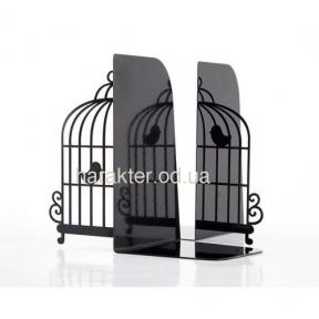 Упоры, держатели для книг Клетка с птицами