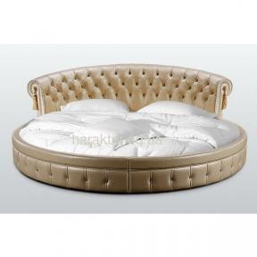 Кровать двуспальная круглая ВЕРОНИКА