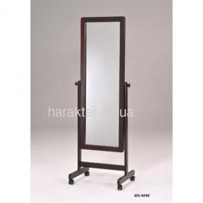 Зеркала напольные MS-9068 вращающееся, цвет орех