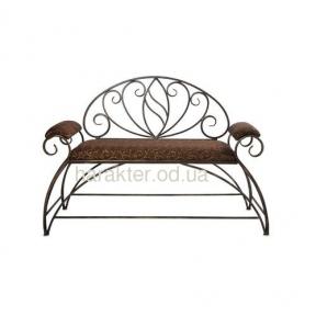 скамейка кованая, мебель в прихожую Банкетка