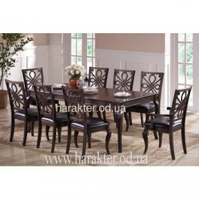 Стол обеденный Аллегра 1500(+400)*900*750 (дуб дымчатый) КД