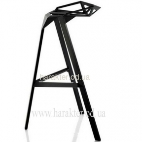 Табурет, стул барный Chair one bar чёрный, красный, белый