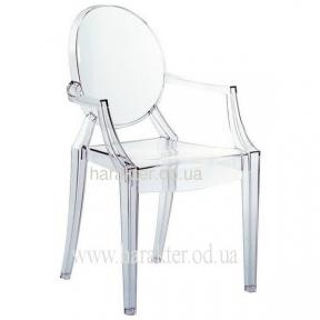 Стул Louis, стул дизайнерский прозрачный