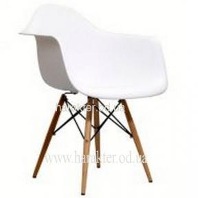 Кресло Тауэр Вуд, цвет белый, черный