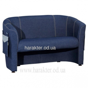 Детский мини-диван джинсовый диван Капризулька амф, мини-кресло Капризулька амф