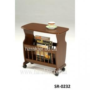 Столик кофейный SR-0232, стол с газетницей, стол журнальный - СТОК