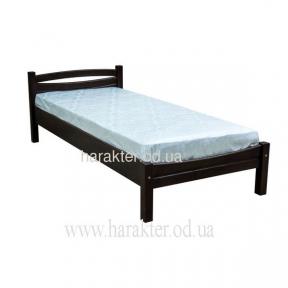 кровать односпальная из дерева сосна ЛК-129 Скиф (Л-109)