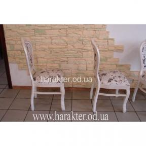 Деревянные белые стулья LA_01
