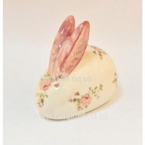 Декор заяц керамический