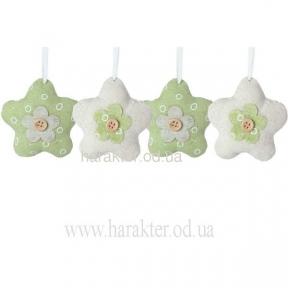 Цветок декор/подвеска (4шт) 16*8*8см