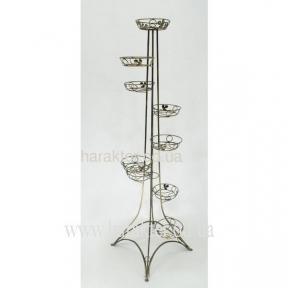 подставка для цветов башня эйфельна 9 горшков