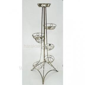 подставка для цветов башня эйфель на 7 горшков