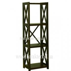 Этажерка деревянная Е-4, стеллаж деревянный кантри, прованс Е-4 шм