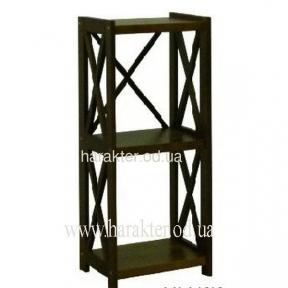 Этажерка деревянная Е-3, стеллаж деревянный кантри, прованс Е-3 шм