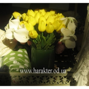 искусственные тюльпаны