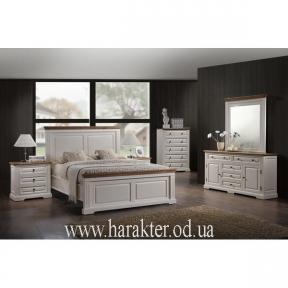 Кровать двуспальная Калифорния в стиле Прованс 160*200