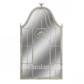 Зеркало в винтажном стиле Птичья клетка настенное